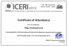 2019 —Certificate for participant International Confernce of Education, Research and Innovation