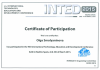 2015 — Certificate of Participation of the 9th International Technology, Education and Development Conference